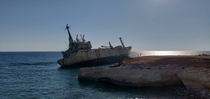 The EDRO III cargo ship in Cyprus