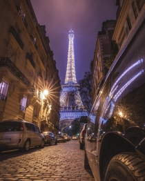 The Eiffel Towers sparkle