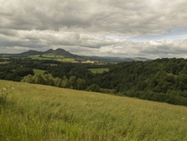 The Eildon Hills Scottish Borders Scotland