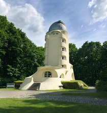 The Einstein Tower  astrophysical observatory built by architect Erich Mendelsohn Germany