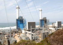 The El Segundo Energy Center a -MW combined cycle power plant in southern California The two gas-fired units can place up to  MW of power onto the grid within  minutes of startup