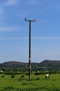 The electric grid Sligo Ireland