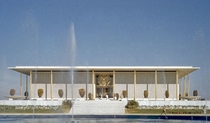 The Embassy of United States in India Designed by Edward Durell Stone x