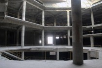 The empty unfinished hotel of Pyongyang started in