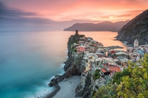 The Enchanting Town of Vernazza Italy