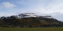 The end of winter in Dumyat Scotland