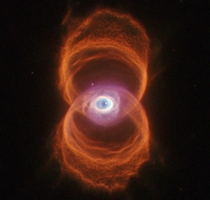 The Engraved HourGlass Planetary Nebula