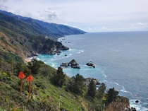 The ever-beautiful Big Sur providing some of Californias most stunning views