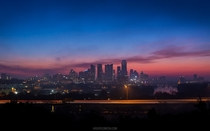 The ever-growing Austin Texas at dusk -  Highfieldmediacom