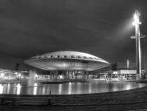 The Evoluon in Eindhoven the Netherlands