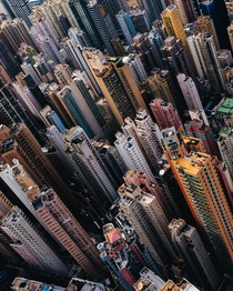 The extreme density of Hong Kong