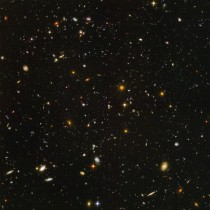 The Extreme Hubble Deep Field Never fails to amaze me on how far we have looked into the universe Every single dot in this picture is a galaxy