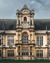 The facade of Oxford University Examination Schools Oxford UK I have more pictures of Oxford architecture is this a good subreddit to post it