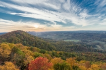 The Fall Colors in Southwest VA Taken at one of the regions many firetowers by Mohsin Kazmi