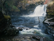 The Falls of Falloch Beautiful waterfall dead easy to get to Loch Lomond amp the Trossachs National Park Scotland
