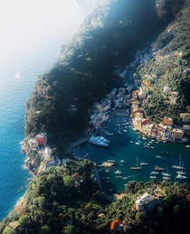 The famous town of Portofino Genoa