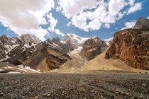 The Fann Mountains of Tajikistan  by Alovaddin
