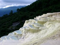 The fascinating White Water Terraces of Shangri-la China