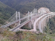 The Favazzina Bridge on Italys A Motorway