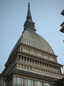The  feet tall Mole Antonelliana in Turin Italy