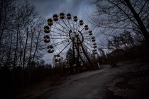 The Ferris Wheel Pripyat Chernobyl Exclusion Zone Ukraine  OC