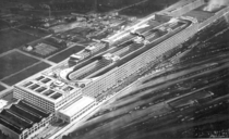 The Fiat Lingotto factory in Turin With its test track on the roof it was recognized in  as the first futurist invention in architecture