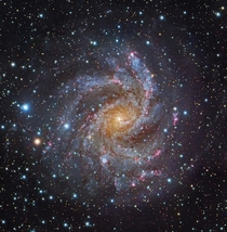 The Fireworks Galaxy NGC