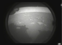 The first Image from the Perseverance Rover