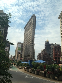 The Flatiron Building in all its glory