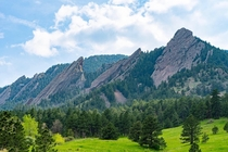 The Flatirons Boulder CO