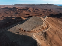 The flattened peak of Cerro Armazones the future home of ESOs European Extremely Large Telescope