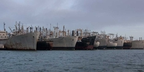 The Fleet of Decaying Ships