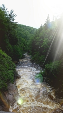 The Flume in Lincoln New Hampshire