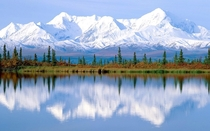 The foothills of the great Alaskan wilderness
