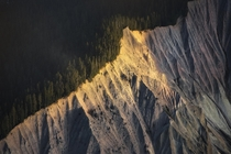 The forces of nature blow me away A mountainside in Squamish BC  tristantodd