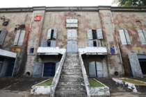 The former Imperial Japanese Navy Fongshan Wireless Communications Station This building offers a great insight of Taiwans dark history and especially the KMT During WWII this was a wireless station After WWII it was a detention and interrogation center n