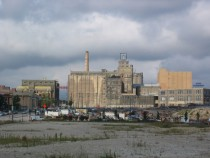 The former Pabst Brewery Complex in Milwaukee closed in