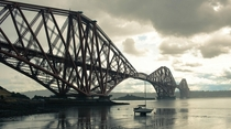 The Forth Bridge Scotland on a moody afternoon a few weeks ago