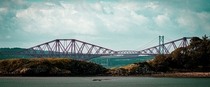 The Forth Bridges from Fife Scotland