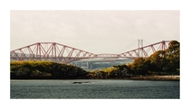 The Forth Rail Bridge and the Forth Road Bridge Firth of Fourth Scotland