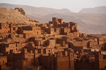 The fortified city of At Benhaddou Morocco