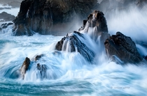 The Fountain Big Sur Coast CA  Photo by Chris Lydon
