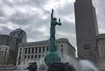 The Fountain of Eternal Life in Cleveland Ohio