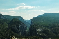 The French Grand Canyon - Gorges Du Verdon France