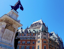 The Frontenac Hotel in Quebec City