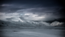 The frozen landscape of Svalbard Norway - Hans Christian Berge