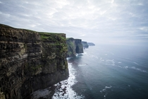 The  ft Cliffs of Moher in Ireland - Same height as the wall in Game of Thrones