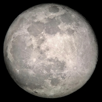 The full moon the other night - shot with my Celestron SE an Orion mm eyepiece and iphone adapter