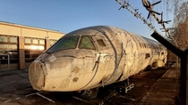 The fuselage of a Dornier  prototype on Berlins Tempelhof-Airport that was turned into a park in