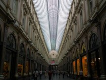 The Galerie St-Hubert of Bruxelle Belgium